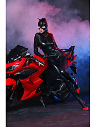 cheap -Women's Movie / TV Theme Costumes Sex Zentai Suits Cosplay Costume Catsuit Top Pants Mask