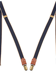 cheap -Daily Wear / Festival Party Accessories Suspenders Gore Genuine Leather Wedding