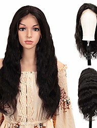 cheap -Human Hair Unprocessed Virgin Hair 4x13 Closure Wig Free Part style Brazilian Hair Body Wave Natural Wig 150% Density Party Classic Sexy Lady Hot Sale Thick Women's Long Cosplay Suits Tea Party