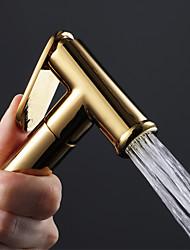 cheap -Bidet Faucet Gold Toilet Handheld Self-Cleaning Clean Spray Gun
