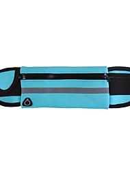cheap -Hiking Waist Bag Fast Dry Waterproof Zipper High Elasticity Stretchy Outdoor Fishing Running Triathlon Special Material Fuchsia Blue Black