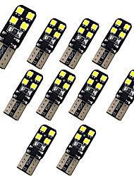 Недорогие -10 шт. T10 Автомобиль Лампы 1.5 W SMD 3030 200 lm 8 Светодиодная лампа Подсветка для номерного знака / Рабочее освещение / Задний свет Назначение Универсальный Avenger / Elysee / 9-5