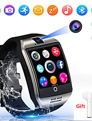 cheap -Indear Q18 Men Women Smartwatch Android iOS Bluetooth 2G Waterproof Touch Screen Sports Calories Burned Hands-Free Calls Timer Stopwatch Pedometer Call Reminder Activity Tracker