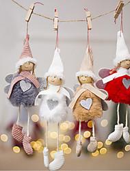 Недорогие -праздничные украшения новогодние / рождественские украшения рождественские украшения декоративные 4шт