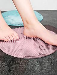Недорогие -силиконовая ванна массажная подушка-щетка для ленивых мытья ног чистая мертвая кожа ванная комната артефакт спинка подушка для ног