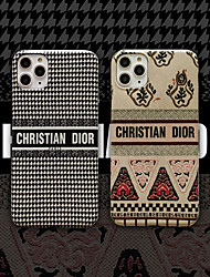 cheap -Case For Apple iPhone 11 / iPhone 11 Pro / iPhone 11 Pro Max Pattern Back Cover Word / Phrase / Cartoon PC