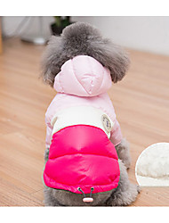 cheap -Dog Coat Bandanas & Hats Winter Dog Clothes Costume Cotton Mixed Material Cosplay XS S M L