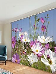 cheap -Variegated High Chrysanthemum Digital Printing 3D Curtain Shading Curtain High Precision Black Silk Fabric High Quality Curtain
