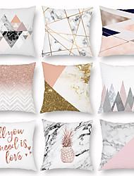 cheap -Autumn Refreshing Simple Pillowcase Sofa Pillow Headrest Pillow Pattern Pillowcase