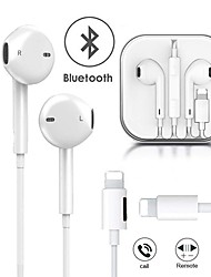 cheap -Wired Headphones Charging Music 2 in 1 Bluetooth Earphones For Apple IPhone X XR XS Max 8 7 Plus 11 11 Pro Max  Lightning Stereo Earphone Earbuds with Microphone EarPhone