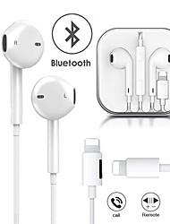 abordables -écouteurs filaires charge la musique 2 en 1 écouteurs bluetooth pour iphone xr xs max 8 7 plus 11 11 pro max foudre écouteurs stéréo écouteurs avec microphone écouteurs