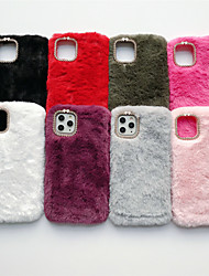 cheap -Case For Apple iPhone 11 / iPhone 11 Pro / iPhone 11 Pro Max Rhinestone Back Cover Plush TPU
