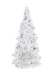 cheap -Color Change LED Artificial Crystal Christmas Tree Decoration Christmas Night Light