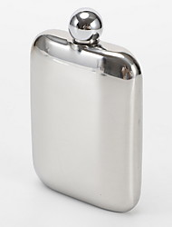 cheap -Liquor Flask for Women/men , 304Stainless Steel Hip Flask with Funnel, Round flasks for Liquor 7 oz