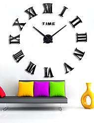 "cheap -Wall Clock,Modern Contemporary DIY Acrylic Round Indoor 80*150cm(31""*59"")"