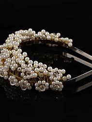 cheap -Imitation Pearl / Alloy Tiaras with Imitation Pearl 1 Piece Wedding Headpiece