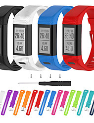 cheap -Watch Band for Vivosmart HR+(Plus) Garmin Sport Band / DIY Tools Silicone Wrist Strap