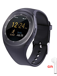 cheap -Indear Y1 Men Women Smartwatch Android iOS Bluetooth 2G Waterproof Touch Screen Sports Calories Burned Hands-Free Calls Timer Stopwatch Pedometer Call Reminder Activity Tracker / Sleep Tracker