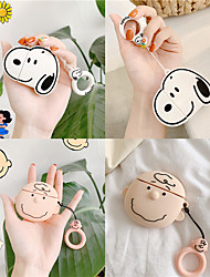cheap -For Airpods 2 Case Silicone Stitch Cartoon Cover for Apple Air pods Cute Earphone Case 3D Headphone case for Earpods Accessories