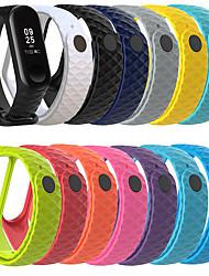 cheap -1 Pcs Watch Band New Diamond Pattern Strap For Xiaomi MI Band 4 Smart Bracelet Sports Wristband For Xiaomi MI Band 4/3 Smart Accessories