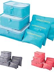 Недорогие -Высокое качество моды сумка для хранения набор для одежды аккуратный органайзер шесть шт мешок для стирки чемодан упаковочные пакеты для одеяла