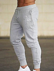 cheap -Men's Sporty Chinos Pants - Animal Black Red Green US34 / UK34 / EU42 US36 / UK36 / EU44 US38 / UK38 / EU46
