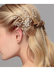 cheap -Pearl / Alloy Hair Pin with Pearl 1 Piece Wedding Headpiece