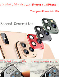 cheap -Applicable iPhone Apple X Seconds Change 11 Lens Sticker XSMAX Modified 11PROMAX Explosion Modified Case Lens 11PROMAX Camera