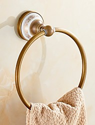 cheap -Towel Bar New Design / Cool Modern Brass 1pc towel ring Wall Mounted