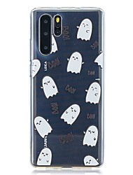 cheap -Case For Huawei P30 / Huawei P30 Pro / Huawei P30 Lite Pattern Back Cover Expression Egg TPU for Huawei Y6(2019) / Y7(2019)