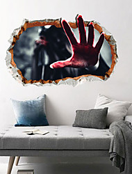 cheap -Decorative Wall Stickers - Plane Wall Stickers / Holiday Wall Stickers Halloween Decorations / Holiday Living Room / Bedroom / Kitchen