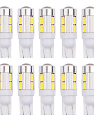 cheap -4Pcs T10 LED W5W 168 194 10SMD Error Free T10 10LED Wedge Light Side Bulbs For Car Tail light Side Parking Dome Door Map light 12v