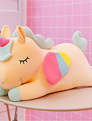 cheap -Plush Dolls Stuffed Animal Plush Toy Unicorn Animals Adorable Cotton / Polyester Imaginative Play, Stocking, Great Birthday Gifts Party Favor Supplies Boys and Girls Kids Adults Baby & Toddler