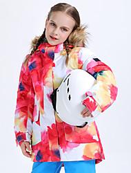 cheap -Boys' Ski Jacket Snow Jacket Waterproof Warm Wearable Winter Tracksuit for Skiing Camping / Hiking Winter Sports / Girls' / Kids