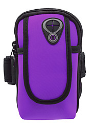 Недорогие -С ремешком на руку для Спортивные сумки Многофункциональный Водонепроницаемость Дышащий Сумка для бега Ткань Универсальные Взрослые