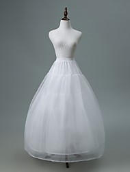 cheap -Wedding / Party / Evening Slips Polyester / Tulle Suit Length Ball Gown Slip / Bridal with