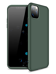 cheap -Case For Apple iPhone 11 / iPhone 11 Pro / iPhone 11 Pro Max Frosted Back Cover Solid Colored Plastic