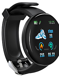 cheap -D18 Unisex Smart Wristbands Android iOS Bluetooth Waterproof Heart Rate Monitor Blood Pressure Measurement Distance Tracking Information Pedometer Call Reminder Activity Tracker Sleep Tracker