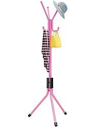 cheap -Standing Entryway Coat Rack Coat Tree Hat Hanger Holder Jacket Umbrella Tree Stand Base Metal