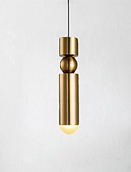 cheap -1-Light Bedside Small Chandelier Bedroom Light Luxury Modern Creative Personality Long Chandelier Bar Dining Lamp