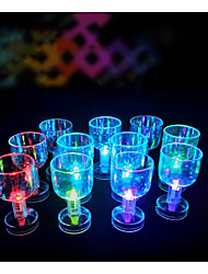 cheap -Color Flashing Small Goblet With Led Flash Light