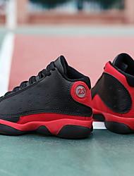 abordables -Garçon Confort Polyuréthane Chaussures d'Athlétisme Petits enfants (4-7 ans) Football Noir Eté