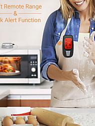 Недорогие -подсветка времени кухня с зондом беспроводной пульт дистанционного точный термометр для барбекю цифровой мясной гриль сигнализация печь портативный приготовления пищи
