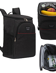 cheap -18L Insulated Cooler Backpack Large Capacity Bag Portable Food Lunch Backpack Waterproof Ice Pack For Picnic Hiking Camp