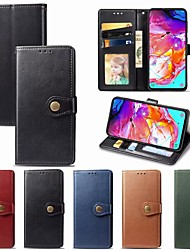 cheap -Leather Flip Phone Case For Samsung Galaxy A70 A50 A40 A30 A20 A10 A20e Magnetic Wallet Cover With Card Holder