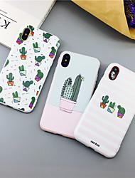 cheap -Cactus Plant TPU Case For Apple iPhone 11 Pro Max 8 Plus 7 Plus 6 Plus Max Pattern Back Cover