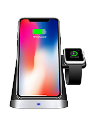cheap -3 in 1 Wireless Charger Stand Holder 10W Qi Fast Wireless Charging Station for iPhone 11/11Pro/11 Pro Max/Xs Max/XR/X Samsung Galaxy S10+ for Apple iWatch Series 5/4/3/2/1 and AirPods