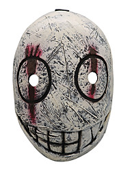 cheap -Mask Halloween Props Halloween Mask Inspired by Ghost Scary Movie red with white Orange Masks Halloween Halloween Men's Women's