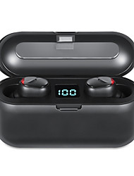 cheap -LITBest M18 TWS True Wireless Earbuds Wireless Noise-Cancelling Stereo Dual Drivers with Microphone HIFI for Travel Entertainment