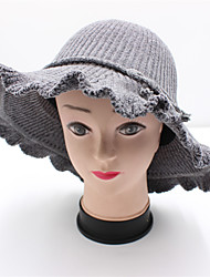 cheap -Flocked Headwear with Lace-up 1 Piece Casual / Daily Wear Headpiece